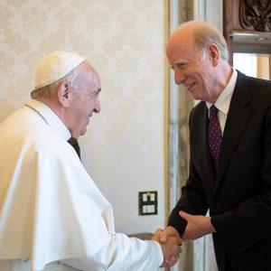 ウォルシュUPF世界議長とローマ教皇